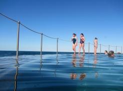 Children at Bronte Pool, Sydney