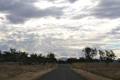 Twilight approaching Carnarvon Gorge