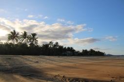 Afternoon shadows at Wongaling Beach