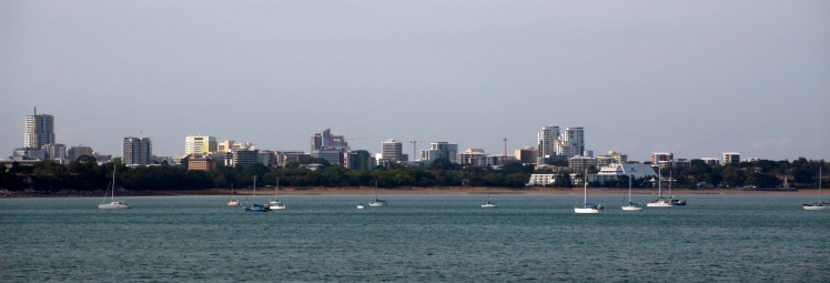 VIew of Darwin from East Point Reserve