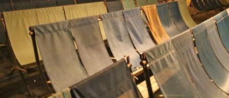 Deckchairs for popcorn