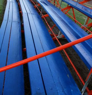 Bleachers at Fitch Hatton Showgrounds