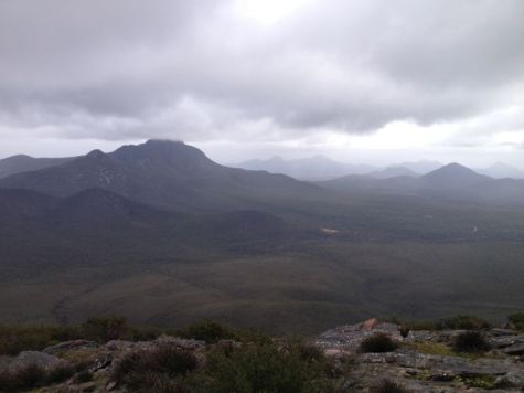 View from Mt Trio