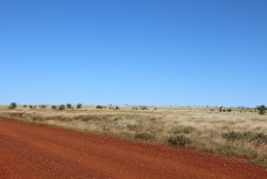 Road to Millstream NP