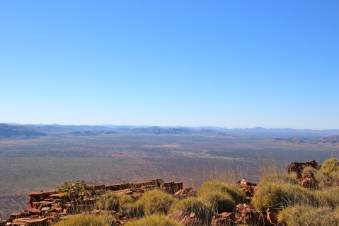 View from the top of Mt Bruce