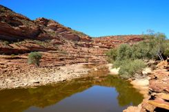 River Bed at The Loop Kalbarri NP