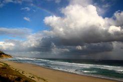 Madalay Beach, same day 15 mins later
