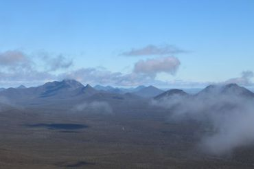 Look over the range from Bluff Knoll