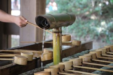 Hand-washing ritual