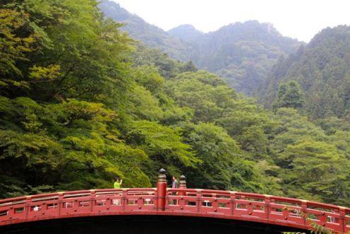 Bridge at Nikko, Japan