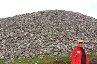 Me at Queen Maeve's Cairn