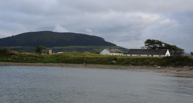 View  of Knocknarea from Coney Island Pier