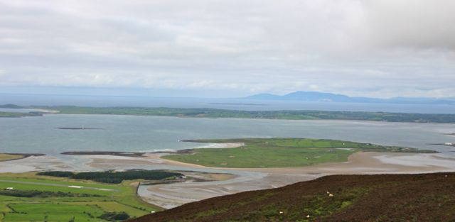 Looking at Coney Island from Knocknarea