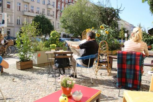 Coffee in Prenzlauer