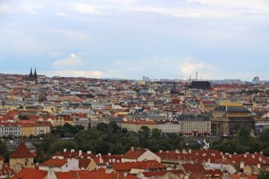 Rooftop views from Prague Castle
