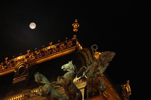 Moonlight on the National Theatre