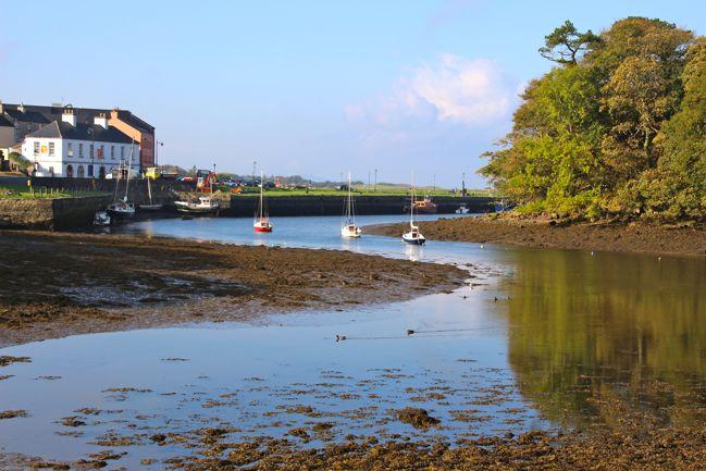 Low tide at Westport Harbour