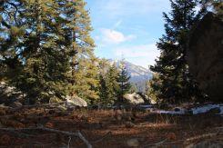 Mountain glimpses
