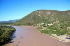 Crossing the Chinipas River