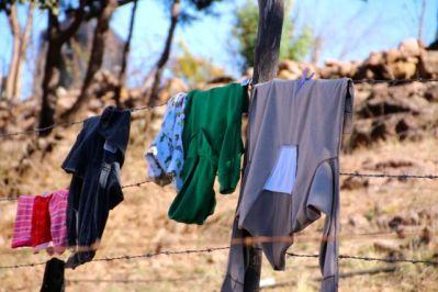 Clothes line.....