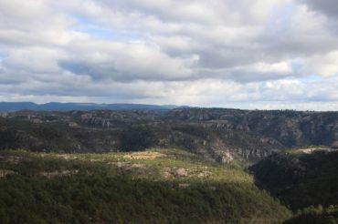 I believe the bare patch to be a Tarahumara farm