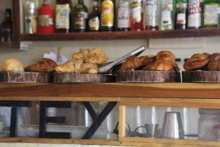 Yummiest almond croissants and the best tasting mojitos!