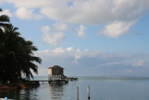 Early morning Tobacco Caye