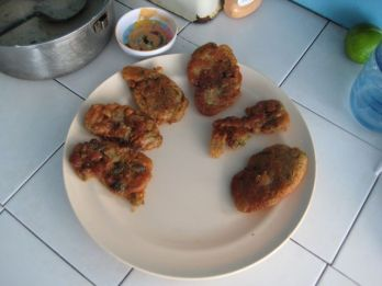 Conch fritters, all time tasty!