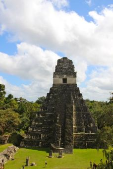Tikal Temple, 47m high