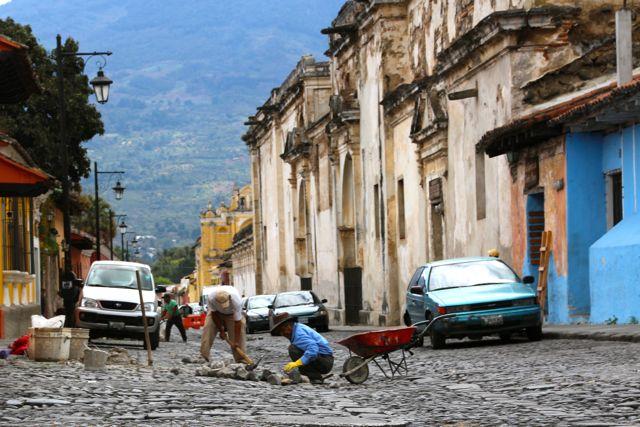 Roadworks Antigua style