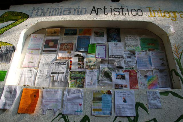 Community Noticeboard, San Marcos