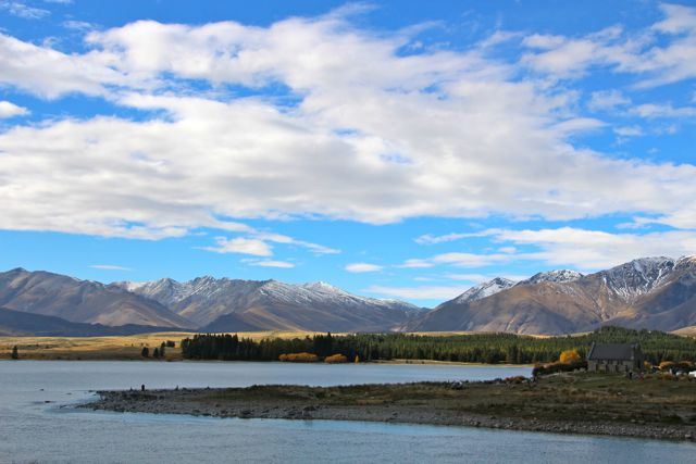 Church of The Good Shepard at Lake Tekapo