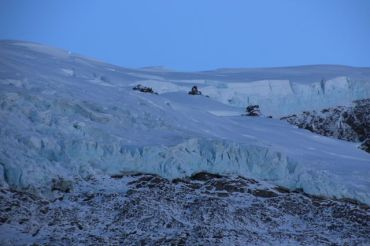 Wasn't this close in person to the glacier sadly, just a zoom lens