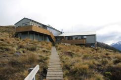 Luxmore Hut, home for the night