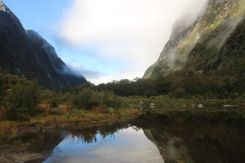 Low cloud through the valley