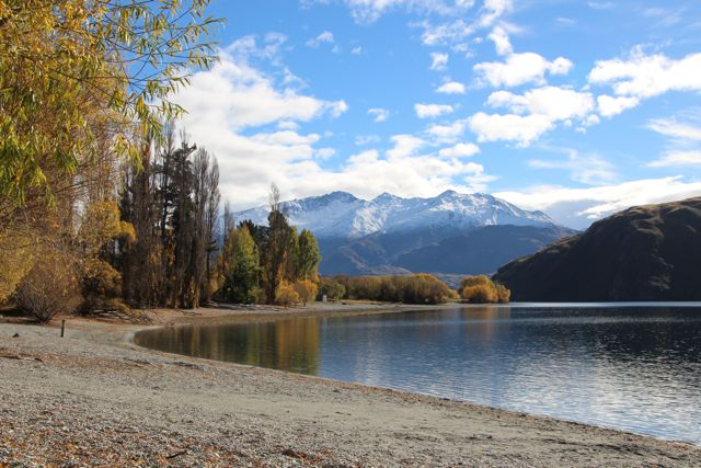 Lake Wanaka, looking to Mt Aspiring