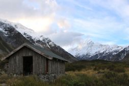 Stocking Stream shelter & Mt Cook