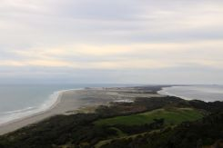 Views of Farewell Spit from the track