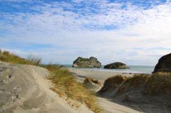 Dunes at Wharariki Beach