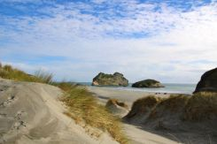 Dunes at Wharariki Beach