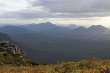 Views from the summit of Bluff Knoll