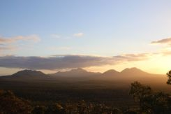 Afternoon light of the Stirling Ranges