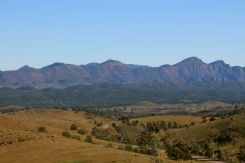 Views of Wilpena Pound from Hucks Lookout