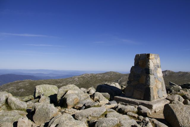 Summit of Mt Kosciusczko @ 2228m