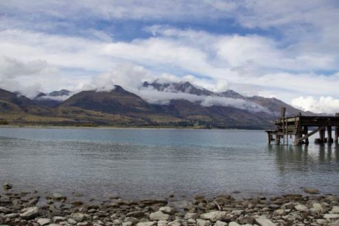 Lake Wakatipu from Kinloch