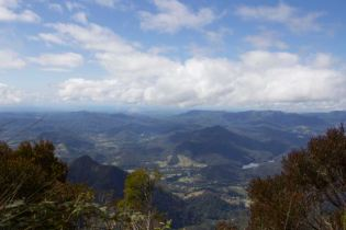 Gold Coast Hinterland, seen from Mt Warning
