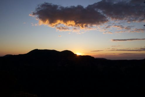 Almost sunrise, Blue Mountains