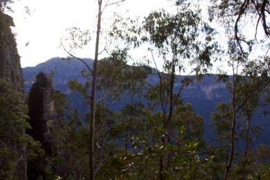 Beginning the descent, Perrys Lookdown