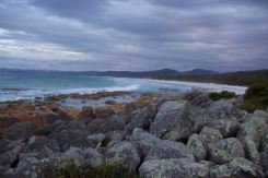 night approaching, Freycinet National Park